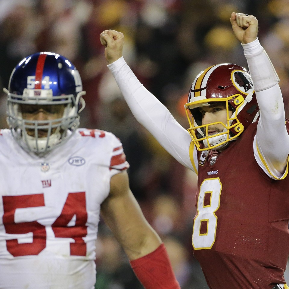 Awful Giants-Redskins game meant nothing, taught nothing